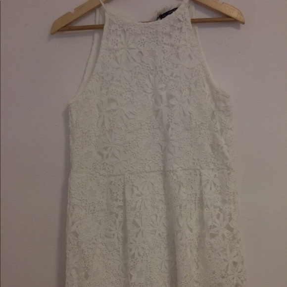 3e3613e6d5c New Zara vintage white lace dress- medium